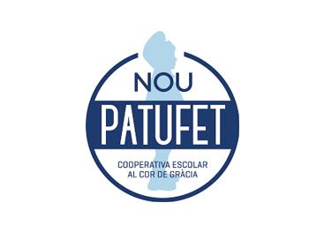 Logotip escola Nou Patufet